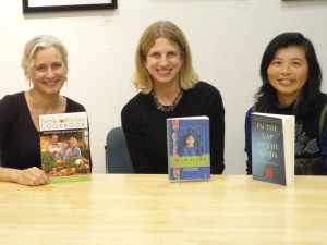 Cindy Bailey, Jessica O'Dwyer and Li Miao Lovett at Book Passage_Mamalita