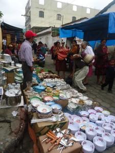 chichi june 2015 man selling kitchenware