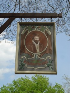 raleigh tavern sign