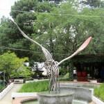El Tenador fork sculpture
